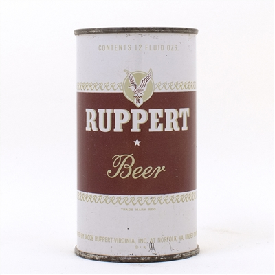 Ruppert BEER Flat Top Can NORFOLK VA