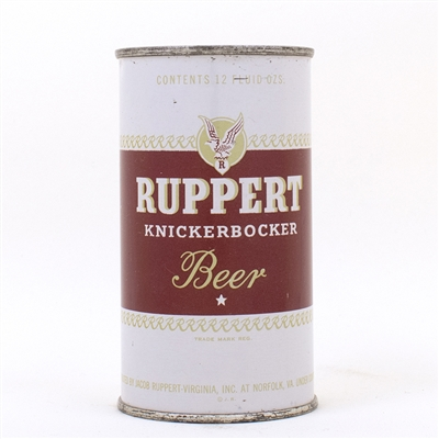 Ruppert KNICKERBOCKER Beer Flat Top NORFOLK VA
