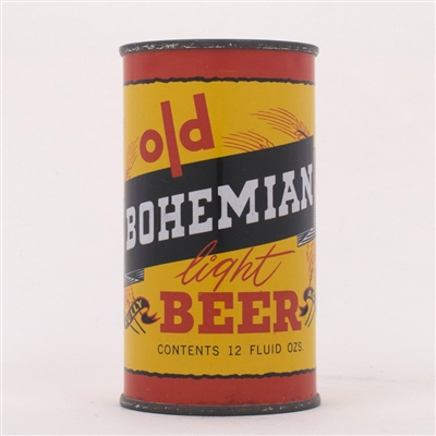 Old Bohemian Light Beer Can 104-12