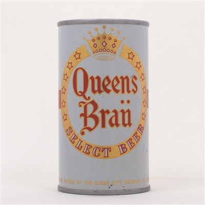 Queens Brau Select Beer Can 117-18