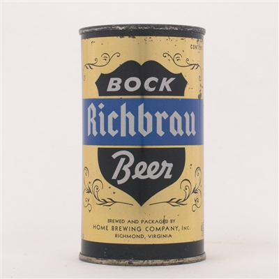 Richbrau BOCK Beer Can 125-5