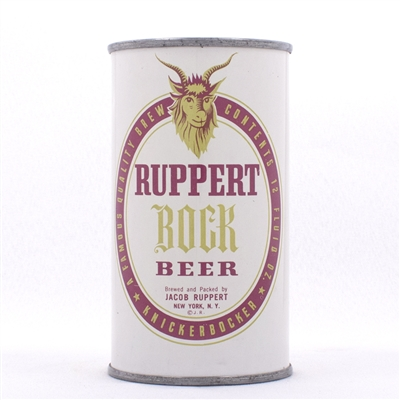 Ruppert Bock Beer Can 126-29
