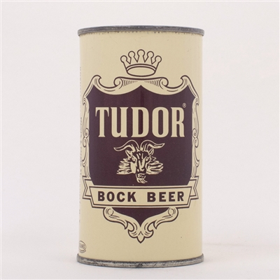 Tudor Bock Beer Can HORNELL 141-17