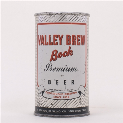 Valley Brew Bock Beer Can 142-31