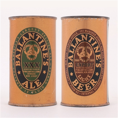 Ballantines Ale/Beer Can Set 33-15-25