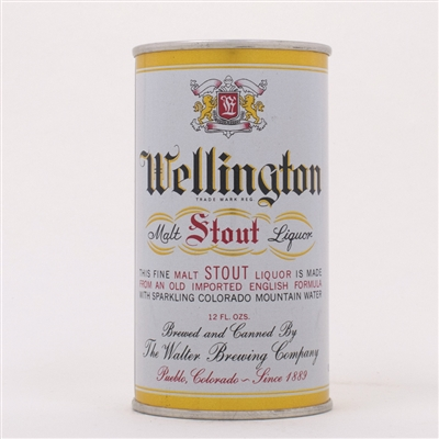 Wellington Malt Stout Liquor Can 145-2