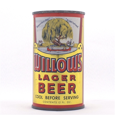 Willows Lager Beer OI 878 146-7