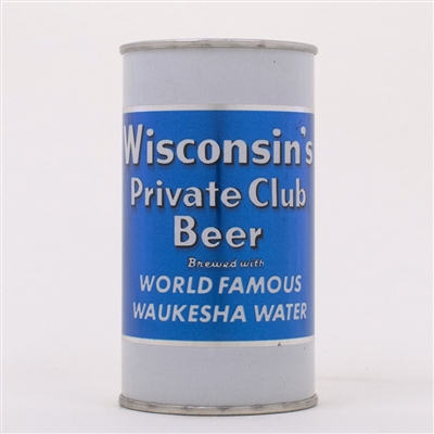 Winsconsin Private Club Beer Can 146-32