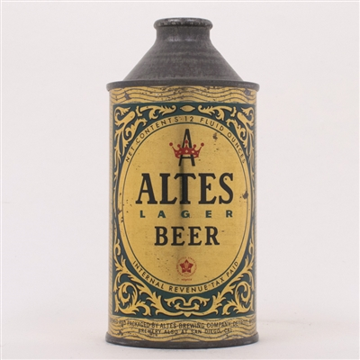 Altes Lager Beer Cone Top Can 150-12