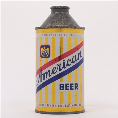 American Beer Cone Top Can 150-17