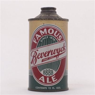 Beverwyck Famous Ale Cone Top Can 151-31