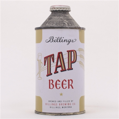 Billings Tap Beer Cone Top Can 152-21