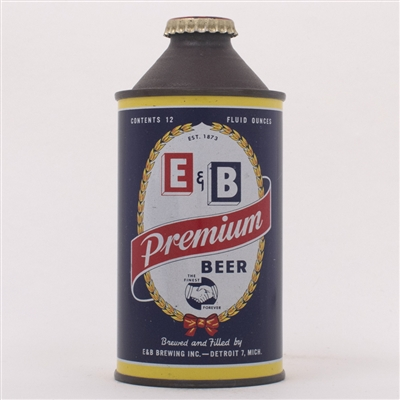 E&B Premium Beer Cone Top Can 160-19