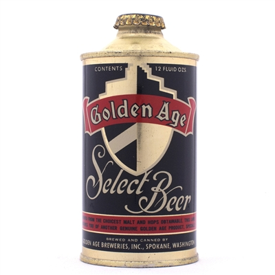 Golden Age Select Beer Cone Can 166-10