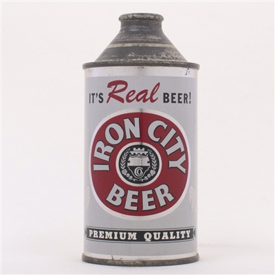 Iron City REAL Beer Cone Can 170-4