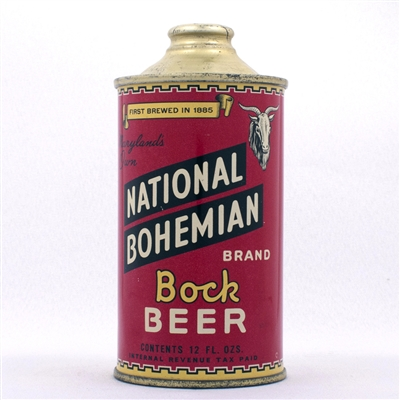National Bohemian BOCK LOW PROFILE 175-9