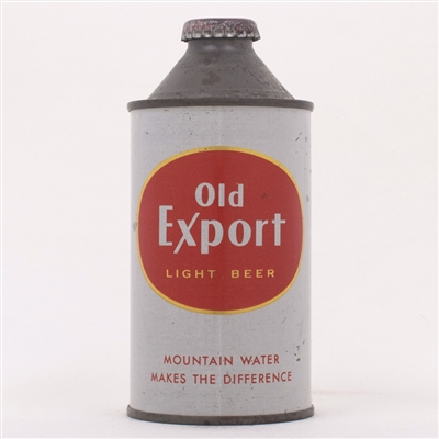 Old Export Light Beer Cone Top 176-14