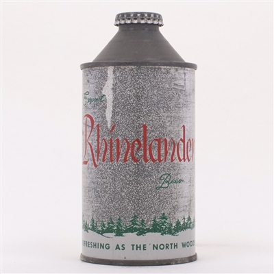 Rhinelander Export Beer Cone Can 182-2