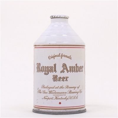 Royal Amber Beer Crowntainer 198-21
