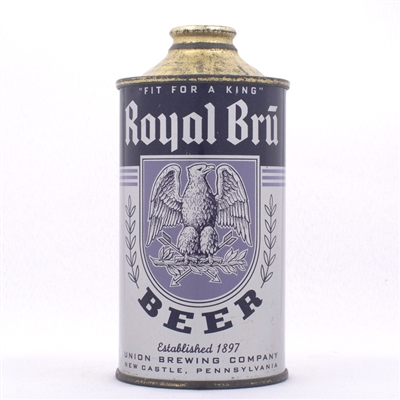 Royal Bru Cone Top Beer Can 182-27