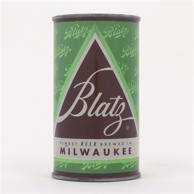 Blatz Green Christmas Can 39-13