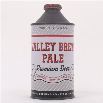 Valley Brew Pale Premium Beer Cone 188-12