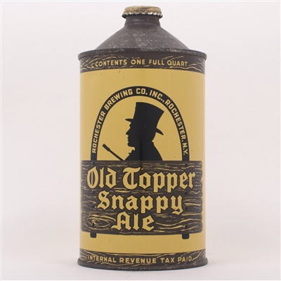 Old Topper Snappy Ale Quart 216-10