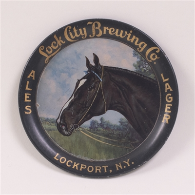 Lock City Pre-Prohibition Horse Tip Tray