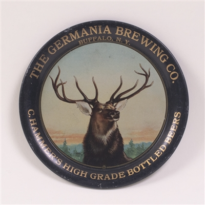 Germania Brewing Co. Pre-Prohibition Elk Tip Tray