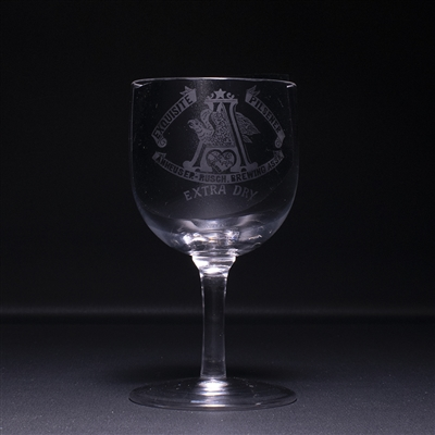 Anheuser Busch Exquisite Pilsener Pre-Prohibition Stem Glass