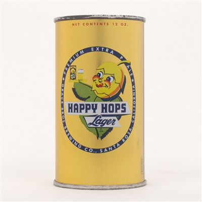 Happy Hops Lager Beer Can 80-14