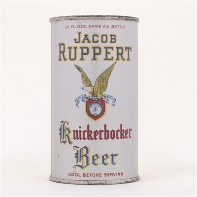 Jacob Ruppert Knickerbocker Beer Can OI 444