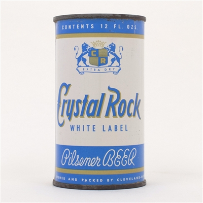 Crystal Rock White Label Pilsener Beer 52-40