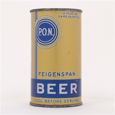 Feigenspan P.O.N. Beer Can 63-4