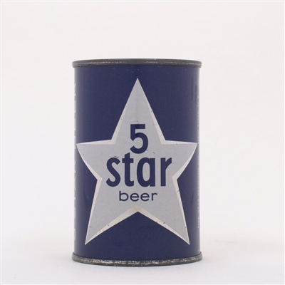 Five Star Beer Can 10 oz 64-21