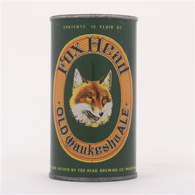 Fox Head Old Waukesha Ale Can 66-6