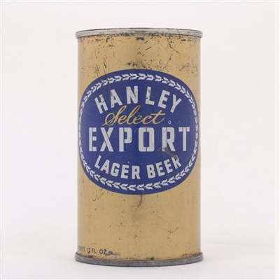 Hanley Select Export Lager Beer 80-7