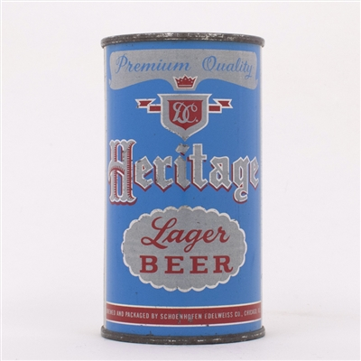 Heritage Lager Beer Can 81-35