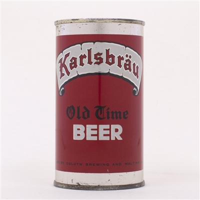 Karlsbrau Old Time Beer Can 87-5