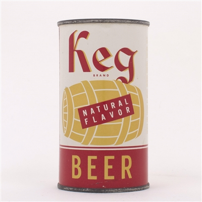Keg Natural Flavor Beer Can 87-26