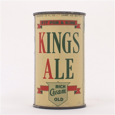 Kings Ale Can Like OI 450B/449A 88-1