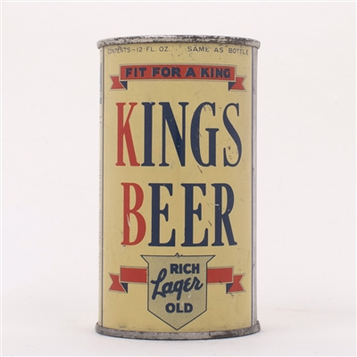 Kings Beer Can OI 451A 88-2