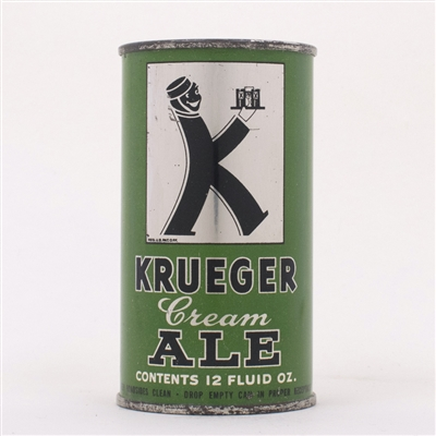 Krueger Cream Ale Can 89-30