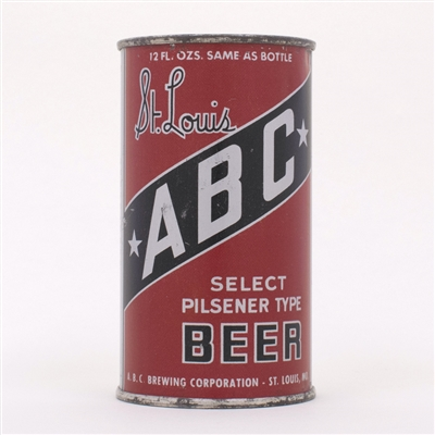 ABC St. Louis Select Pilsener Beer OI 4