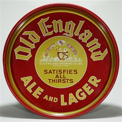 Old England Ale Lager Tray Derby CT