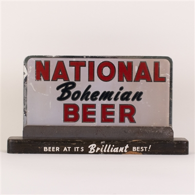 National Bohemian Beer Back Bar Sign
