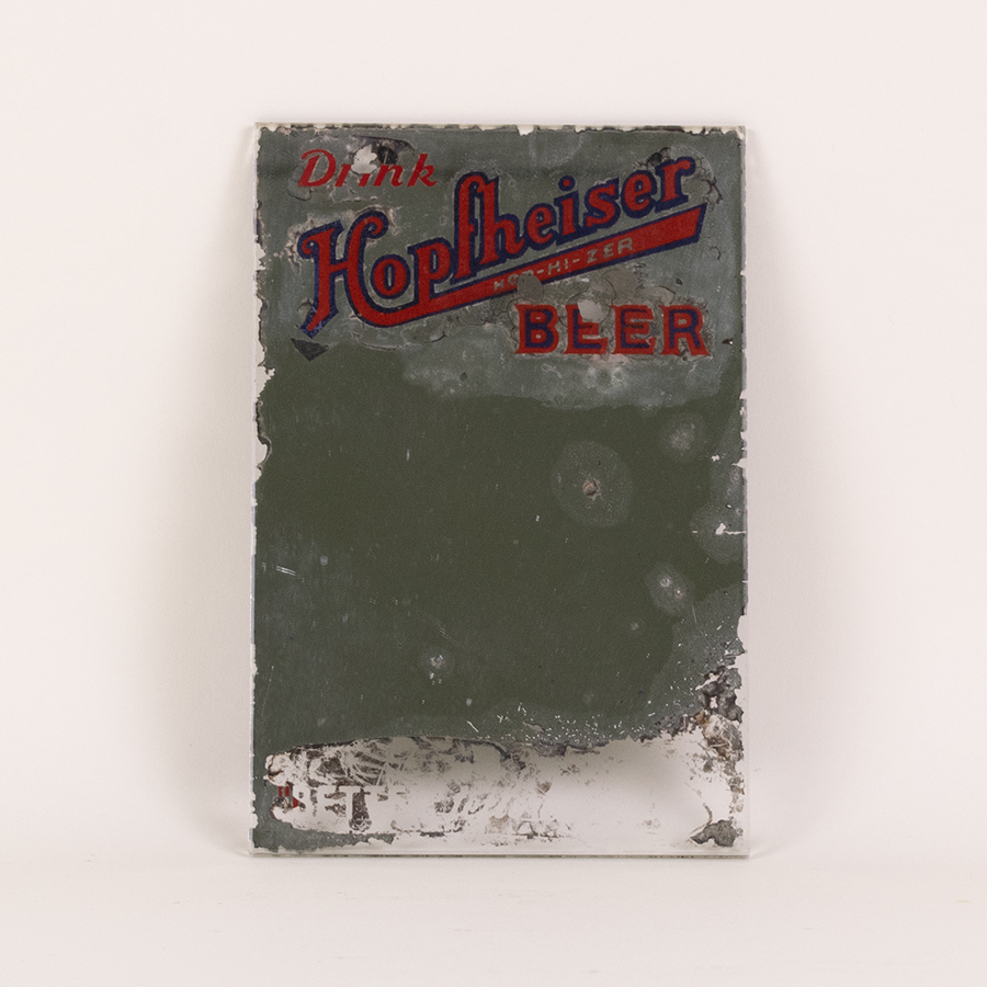 Hopfheiser Beer Advertising Mirror
