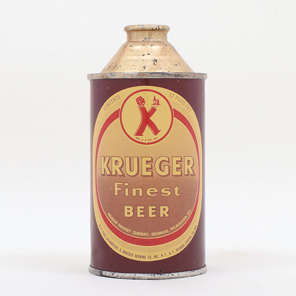 Krueger Beer Cone Top 172-6
