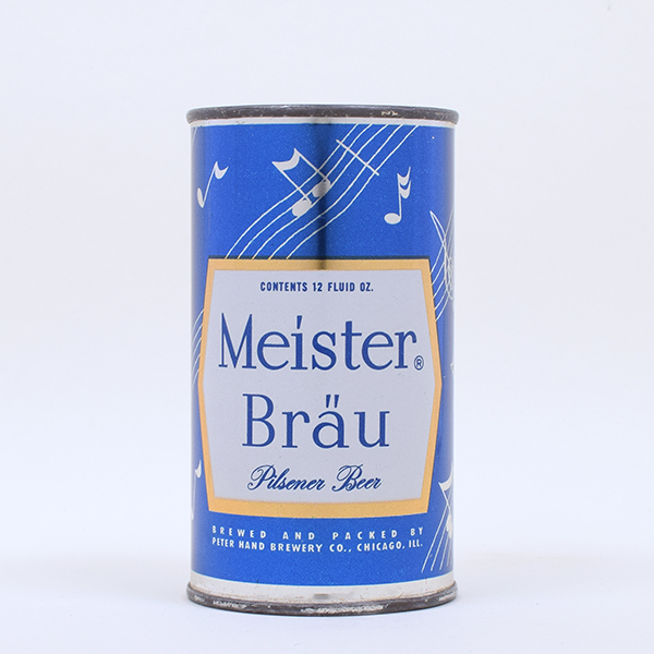 Meister Brau Beer MUSIC Set Can Flat Top 95-17