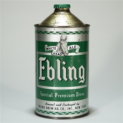 Ebling White Head Ale Quart 207-3